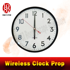 Image 2 - Room escape clock prop JXKJ1987 wireless clock prop put the right time to unclock Takagism game real life escape room puzzle