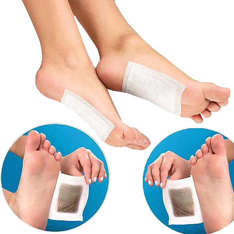 Schönheit & Gesundheit 10 Pcs = 5 Pairs Pflanzliche Detox Gold Fuß Pads Patches Fußpflege Medizinische Pflaster Fuß Remover Linderung Von Schmerzen Fuß Massager
