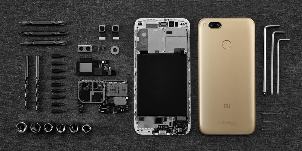 R$ 754 6  Global Version Xiaomi Mi A1 MiA1 Snapdragon 625 Smartphone 4GB  64GB Fingerprint FDD 5 5