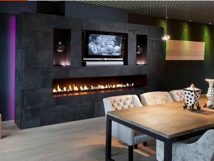 60 Inch Wifi Real Fire Intelligent Smart Burners For Bio Ethanol Fireplace