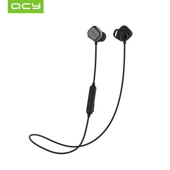 2018 QCY M1 Pro Magnetic Switch Bluetooth Headphones with Mic Wireless Earphones Sports IPX4 Headphone APTX Stereo Headset Bluetooth Earphones & Headphones