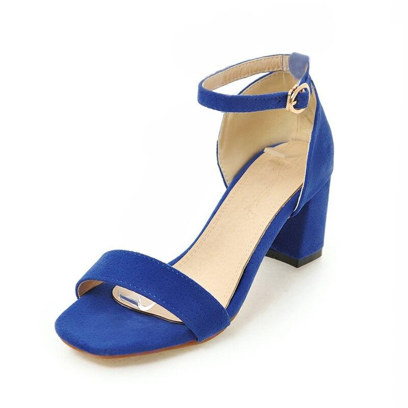 LAPOLAKA 2018 Plus maat 34-43 Enkelband Dames Schoenen Sandalen Mode - Damesschoenen - Foto 2