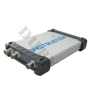 Image 2 - ISDS205X sanal PC USB osiloskop DDS sinyal ve mantık analizörü 2CH 20 MHz bant genişliği 48MSa / s 8bit ADC FFT analizörü