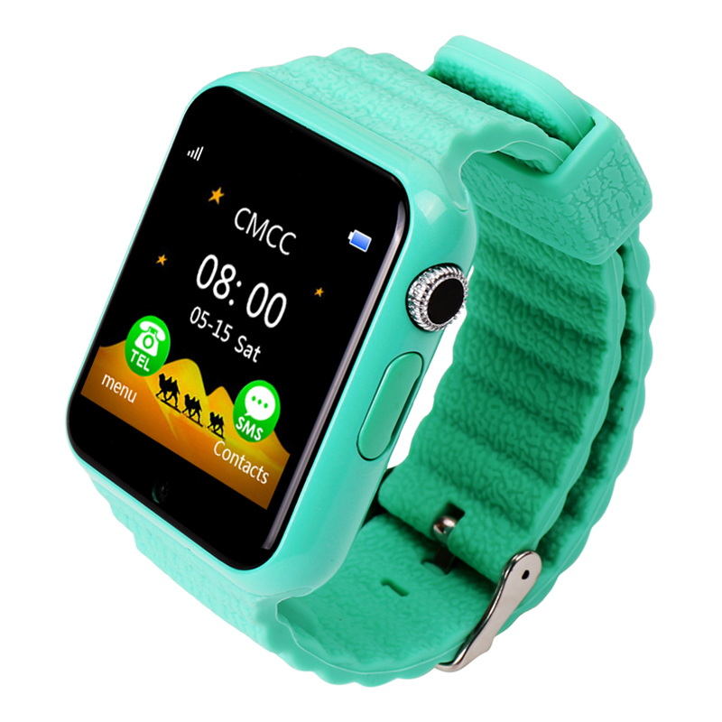 Children's Multi-function Smart Phone Watch Anti-lost Waterproof Security Emergency DPS WeChat Free Internet Watch image