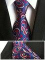 8 cm Único Set com Gravata Paisley Tie Bolso Praça Da Moda Coincidir Com Lenço