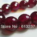 Natural Rose Red Agate Stone Jasper 4mm 6mm 8mm 10mm 12mm 14mm Faceted Round High Quality Women Fashion loose Beads 15inch GE819
