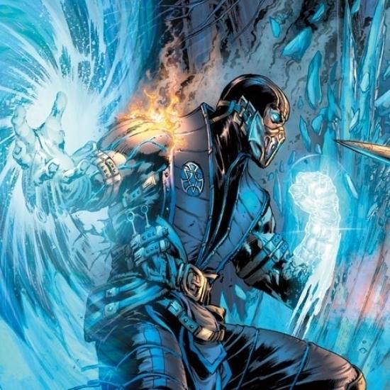 Mortal Kombat – Sub-Zero Comic Poster Print (22 x 34)