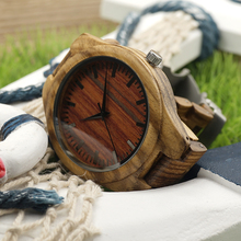 BOBO BIRD Brand Handmade Wood Watch for Men Luxury Wooden Band Watches Reloj Masculino Wood Wrist Watches Best Gifts Items