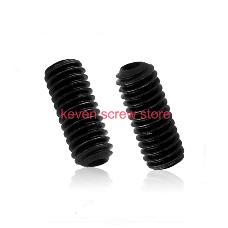 все цены на  100pcs/Lot M3x6 mm M3*6 mm 12.9 Alloy steel Hex Socket Head Cap Screw Bolts set screws with cup point  онлайн