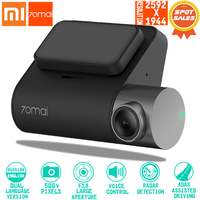 1$Coupon Xiaomi 70mai Dash Cam Pro smart Car 1944P HD Video Recording With WIFI Function Rear View Camera Vechile Parking Monito
