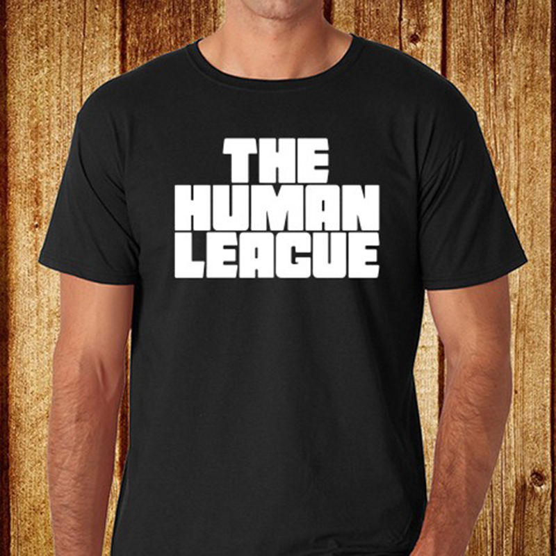 The Human League English Electronic Band Mens Black T-Shirt Size S-3XL