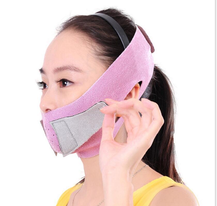 200 sztuk/partia lifting twarzy pas cienki maska odchudzanie twarzy cienki żwacza podwójny podbródek pielęgnacja skóry cienkie przyrząd do modelowania twarzy bandaż pas w Maski imprezowe od Dom i ogród na  Grupa 1