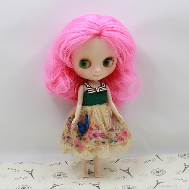 ICY Middie Blythe Кукла Красочные волосы 20cm