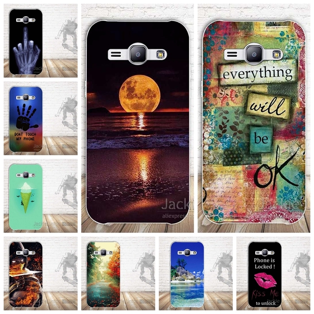 d8707ce1698 Soft Silicone for funda Samsung Galaxy J1 Ace Case J110F J110H Phone Case  Cover for Coque carcasas para Samsung J1 Ace Back Case