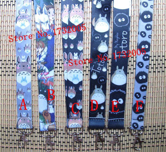 Venta al por mayor 100 piezas de dibujos animados anime japonés teléfono clave cadena correa de cuello llaves cordones envío gratis kl 7-in Llaveros from Joyería y accesorios    1