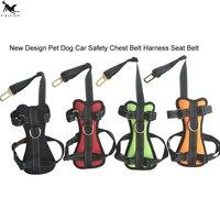 Newest Pets Dog Car Safety Seat Belt Dog Vehicle Chest Harness Belt Adjustment Pet Harness Car