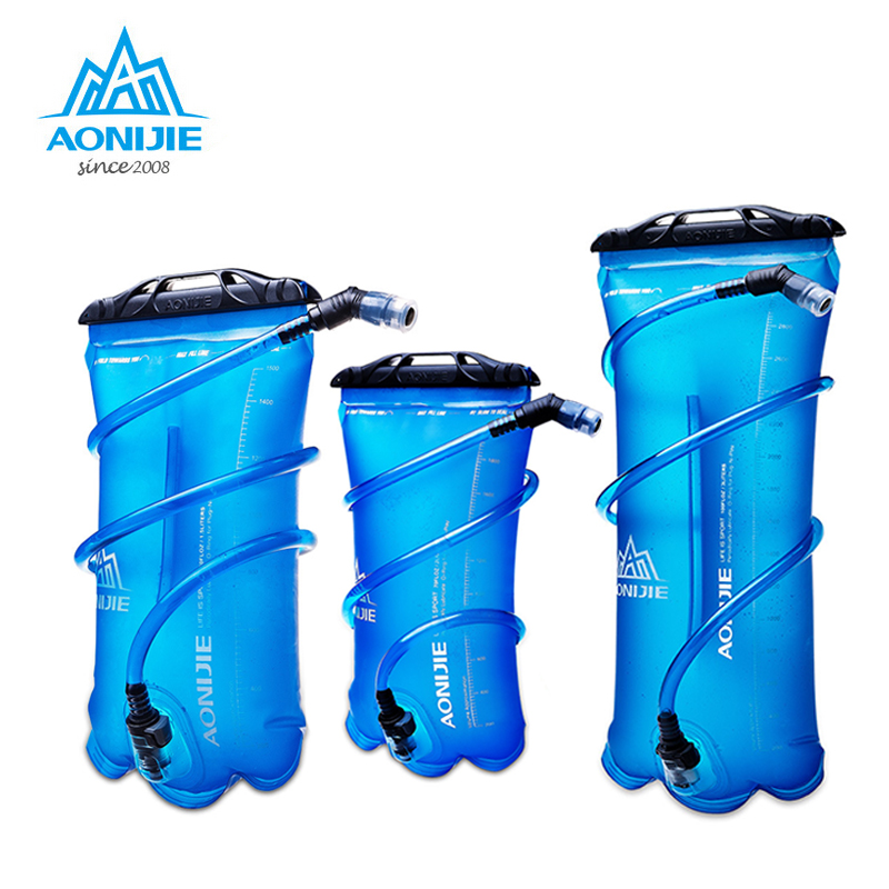 AONIJIE Outdoor Water Bag For Camping Hiking Climbing Cycling Running Foldable Sport Hydration Bladder 1.5L 2L 3L