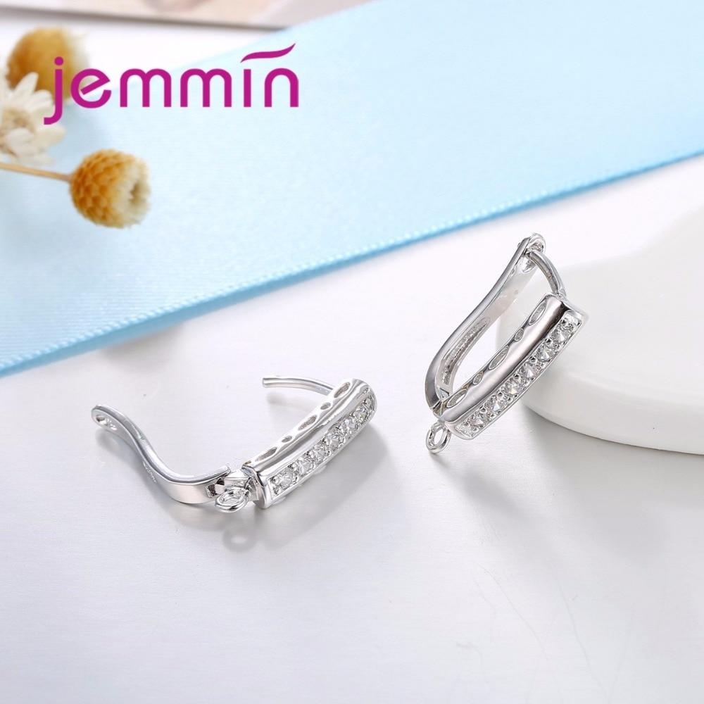 Jemmin Hakiki 925 Ayar Gümüş El Yapımı Bulguları Küpe Güzel - Takı - Fotoğraf 5