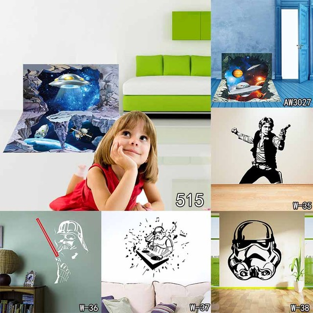 Wall Stickers Star Wars For Kids Rooms