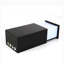 Mini Bluetooth Speaker With Touch Switch Night Light Portable Wireless Wooden 3D Speaker Home Theater Party Speaker Sound System