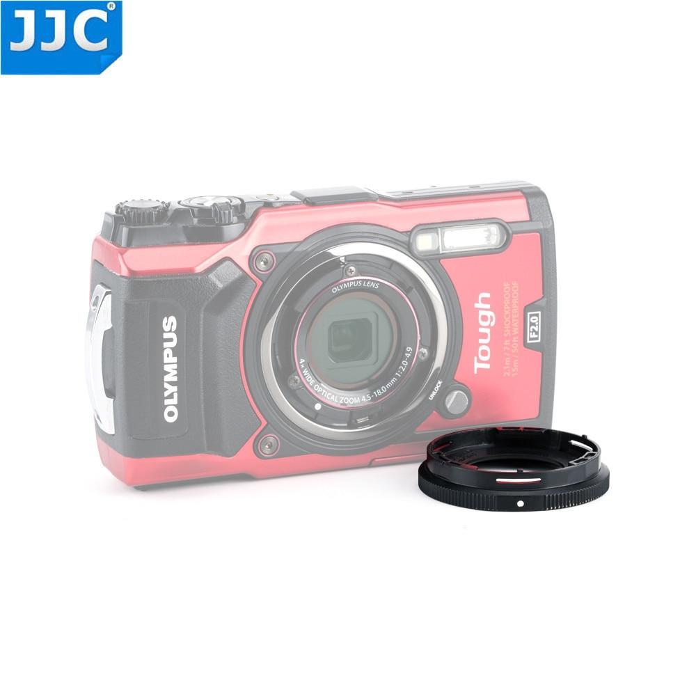 JJC Lens Adapter Ring Tube pour Olympus Tough TG-5/TG-1/TG-2/TG-3/TG-4 Caméra FCON-T01 TCON-T01 comme CLA-T01 40.5mm Fil de Filtre