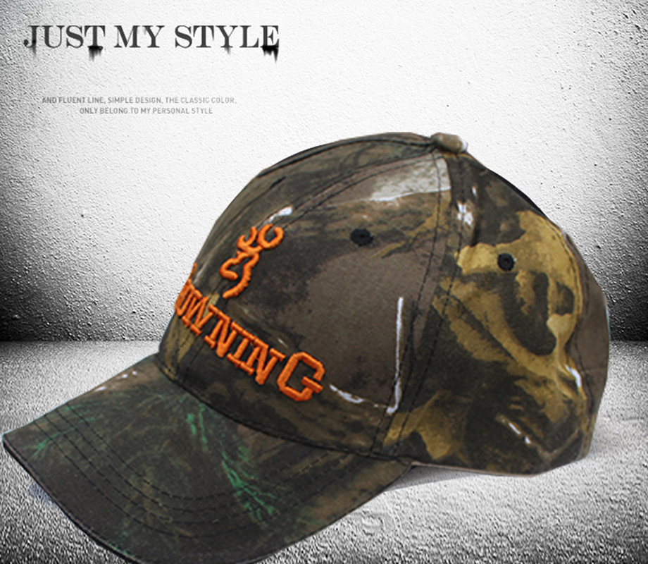 hunting brand baseball caps duck mens browning jungle men rushed adult hats font