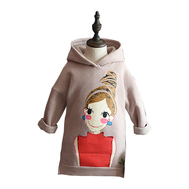 17c16088d 2-8Years Bebé Chicas Manga Larga Camiseta de Los Niños de Dibujos Animados  Rosa Largo