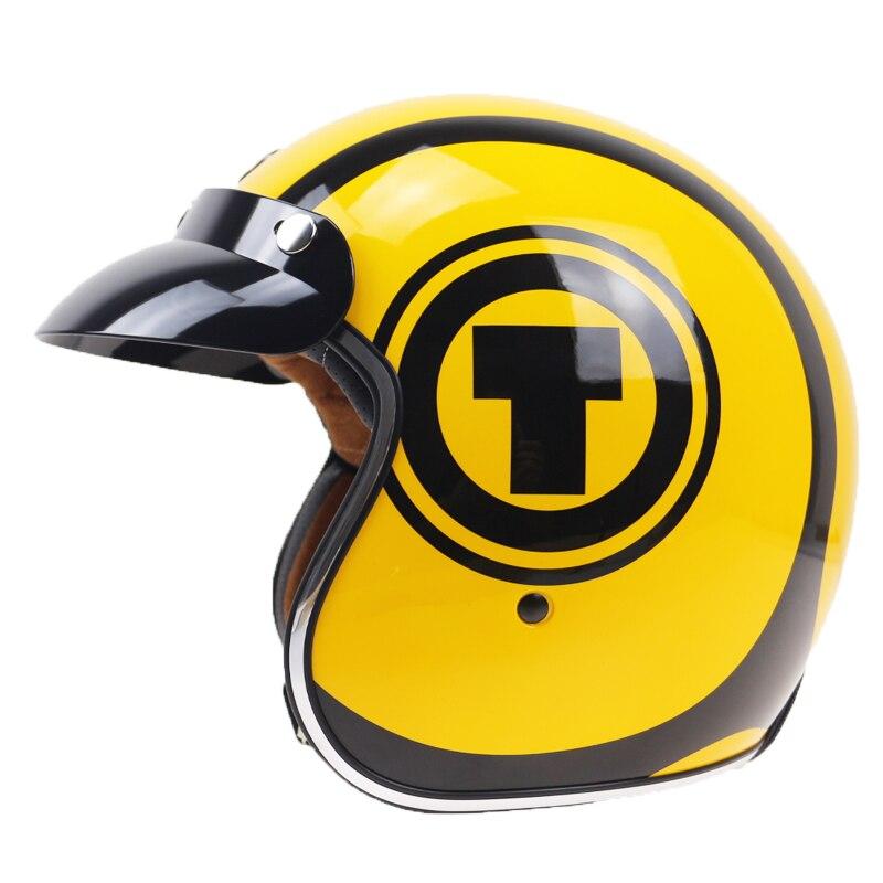 Classic jet style motorcycle helmet E bike helmet harley helmet DOT ECE Approved retro and vintage helmet extremely light weight vintage helmet fiberglass shell free style novelty helmet japan style no more mushroon head