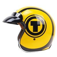 Classic Jet Style Motorcycle Helmet E Bike Helmet Harley Helmet DOT ECE Approved Retro And Vintage