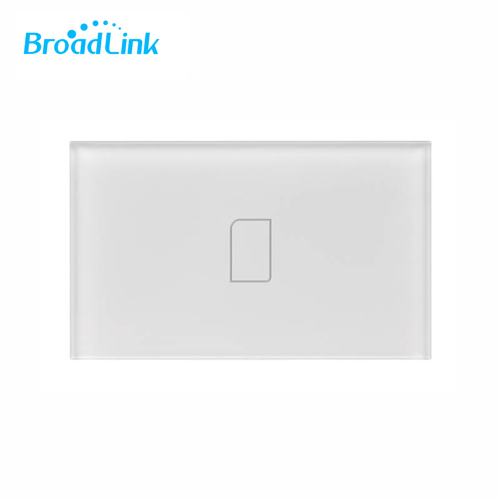 Broadlink TC2 US Plug Electrical Equipment Home RF Touch Light Switch 1/2/3Gang 110V/220V Remote Control Wall Touch Switch Panel smart home uk standard crystal glass panel wireless remote control 1 gang 1 way wall touch switch screen light switch ac 220v
