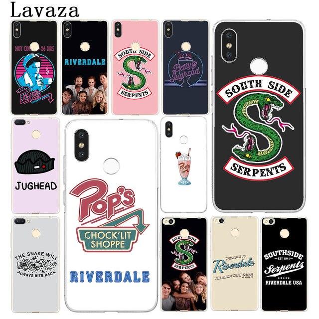Riverdale Lavaza Serpentes Do Lado Sul Rígido Case Capa Do Telefone para Xiaomi Redmi 6A 4A S2 IR Nota 7 5 Plus 4 6 Pro 4X 5A Prime Casos