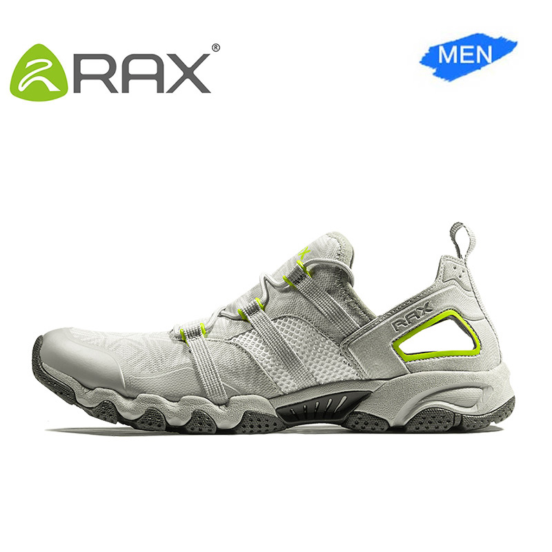 RAX 2017 Men Trekking Shoes Breathable Hiking Shoes For Men Outdoor Light Sports Shoes Quick Dry Aqua Climbing Walking Shoes