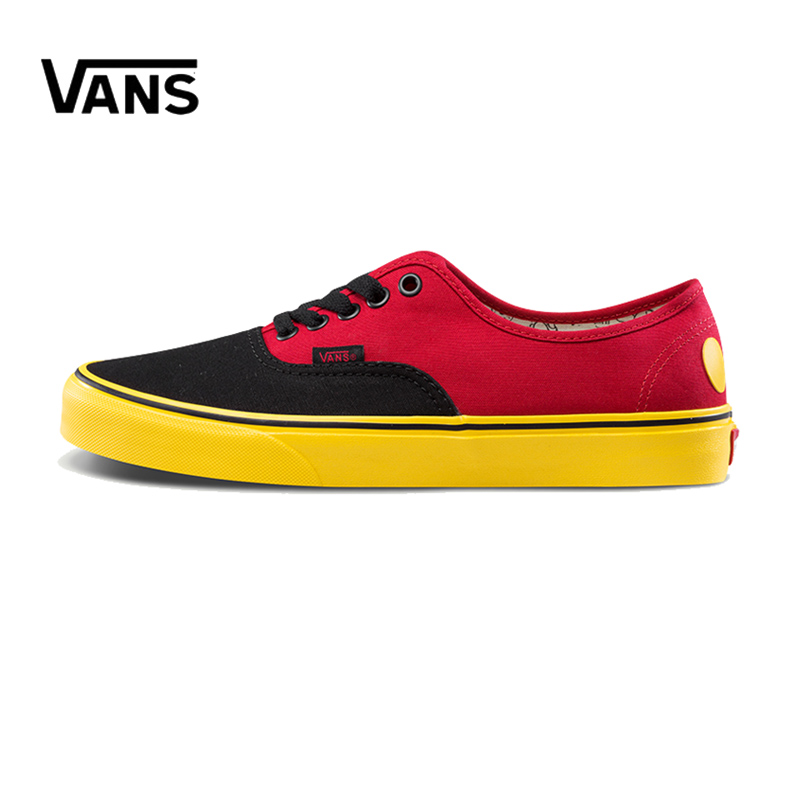 Original New Arrival Vans Men's & Women's Classic Authentic Low-top Skateboarding Shoes Sneakers Canvas Comfortable VN0A38EMUK9