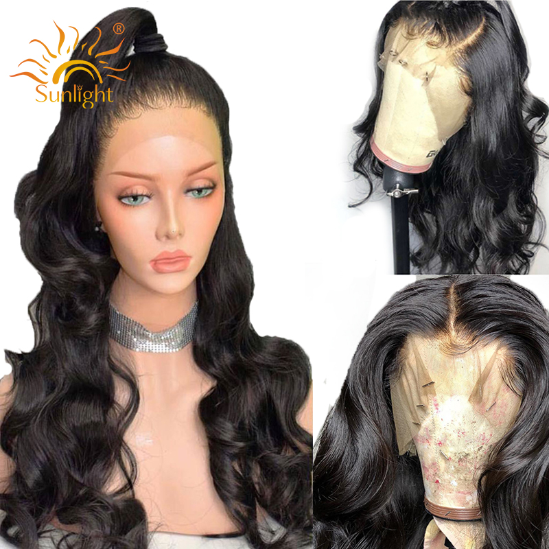 150 density Body Wave Wigs Glueless Lace Front Human Hair Wig pre plucked For Black Women