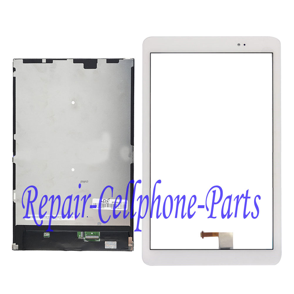 White Full LCD DIsplay + Touch Screen Digitizer For Huawei Mediapad T1 10 Pro LTE T1-A21L T1-A22L T1-A21W huawei mediapad t1 10 lte silver white