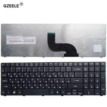 GZEELE russian laptop Keyboard for packard Bell Easynote TM93 TM85 TM86 TM87 TM89 9J.N1H82.A1D  SN8101 TK13BZ TM01 TM98 RU black