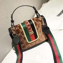 f334e9093bed7 Berühmte Marke Luxus Handtasche 2019 Frauen Tasche Designer frauen Tasche  Niet Kette Messenger Schulter Taschen Weibliche
