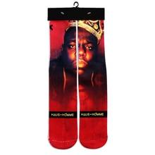 3d character biggle small/2pac/Bob Mary socks basic funny women men Socks fashion designer   long Sock calcetines hombre 2017