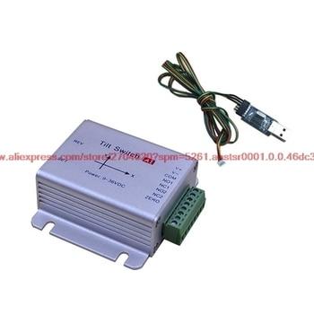متعددة الوظائف العالمي tiltmeter الاستشعار RS232 برامج الاتصالات مستوى التبديل