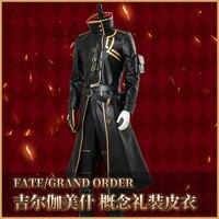 Fate/Grand Order 2 Anniversary Gilgamesh Golden Kimino Elegant Halloween Cospaly Costume