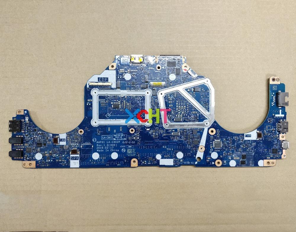 Image 2 - Para Dell Alienware 13 R2 TXYDJ 0TXYDJ CN 0TXYDJ AAP01 LA C902P w i7 6500U CPU N16E GR A1 GPU placa base portátil a pruebaPlaca base de portátil   -