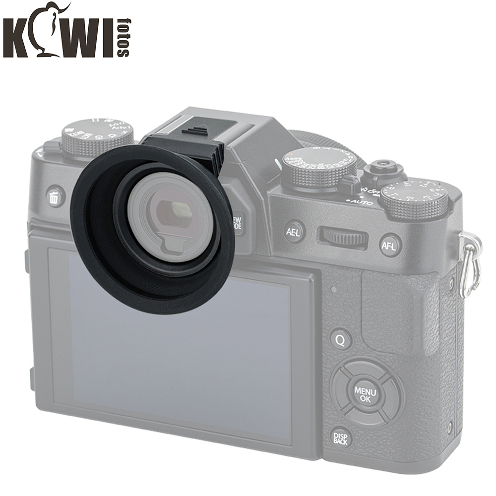 Eyecup For Camera Eyepiece Mounts Easily And Securely Via Hot Shoe Eyecup For Fujifilm X-T20 X-T10 X-T30 Fuji XT20 XT10 XT30