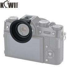 Ocular de copa ocular de silicona suave para cámara a través de la zapata caliente, para Fujifilm, X T20, X T10, Fuji, XT20, XT10, XT30