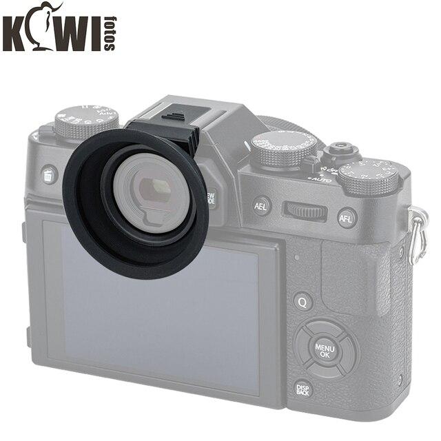 Soft Silicon Camera Eyecup Eyepiece Viewfinder Via Hot Shoe Eye Cup For Fujifilm X T20 X T10 X T30 Fuji XT20 XT10 XT30 Eyeshade