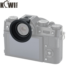Yumuşak silikon kamera Eyecup mercek vizör ile sıcak ayakkabı göz farı Fujifilm X T20 X T10 X T30 Fuji XT20 XT10 XT30 siperliği