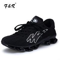 F&R 2018 Men Running Shoes Outdoor Breathable Mesh Jogging Sport Blade Shoes Vapormax Krasovki Walking Sneakers Big Size 39 46