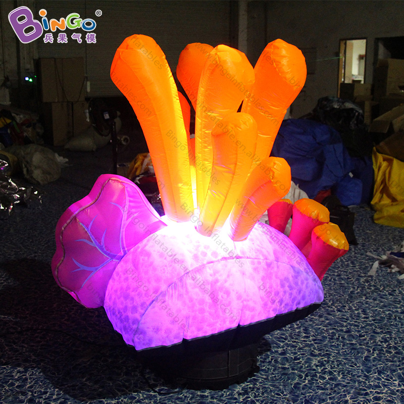Marine/Ocean theme event Inflatable Seaweed balloon with led lighting For Decoration -inflatable toy