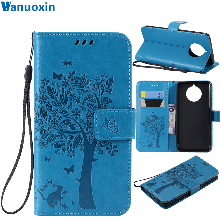 9 PureView Phone Cases on sFor Fundas Nokia 9 PureView Case for Coque Nokia 9PureView TA-1094 3D Wallet Cover Flip Leather Case