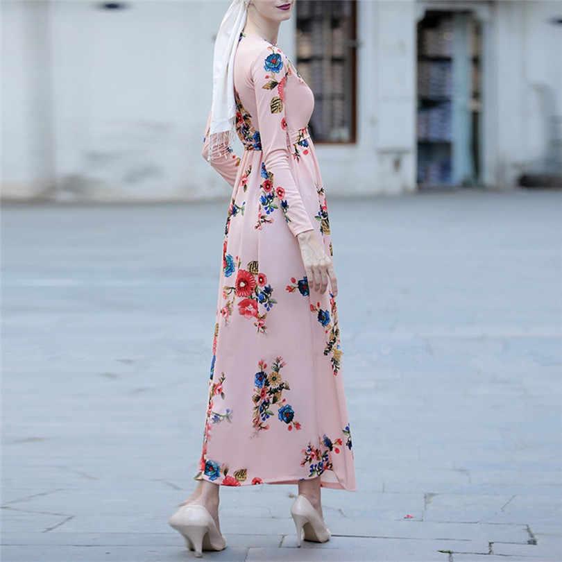 Delle Donne del Vestito dalla fasciatura Musulmano Hijab Abaya Turchia Marocchino Nero Bianco Rosa Blu Dubai Bangladesh Caftano Turco Vestiti Islamici