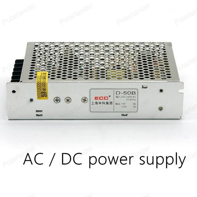 Carcasa de aluminio de Alta Potencia Transformadores de Iluminación AC/DC 50 W de salida dual de conmutación de alimentación tira llevada poder adaptador